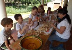 Kézműves táborok a skanzenben