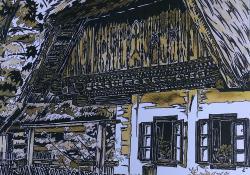 Németh Miklós grafikusművész, táborvezető munkája