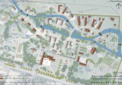 Göcseji Falumúzeum fejlesztési terve - Helyszínrajz