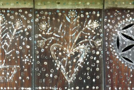 Elkezdődött a gősfai házoromzat restaurálása