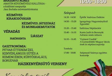 Falumúzeum napja - Kenyérfesztivál 2014 plakát